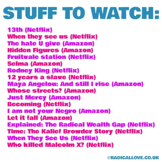 stuff to watch